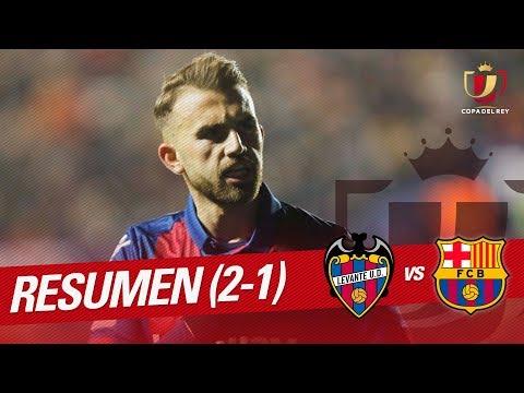 Resumen de Levante UD vs FC Barcelona (2-1)