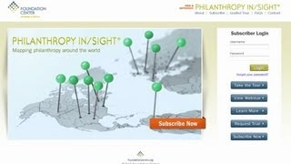 Take a Tour of Philanthropy In/Sight