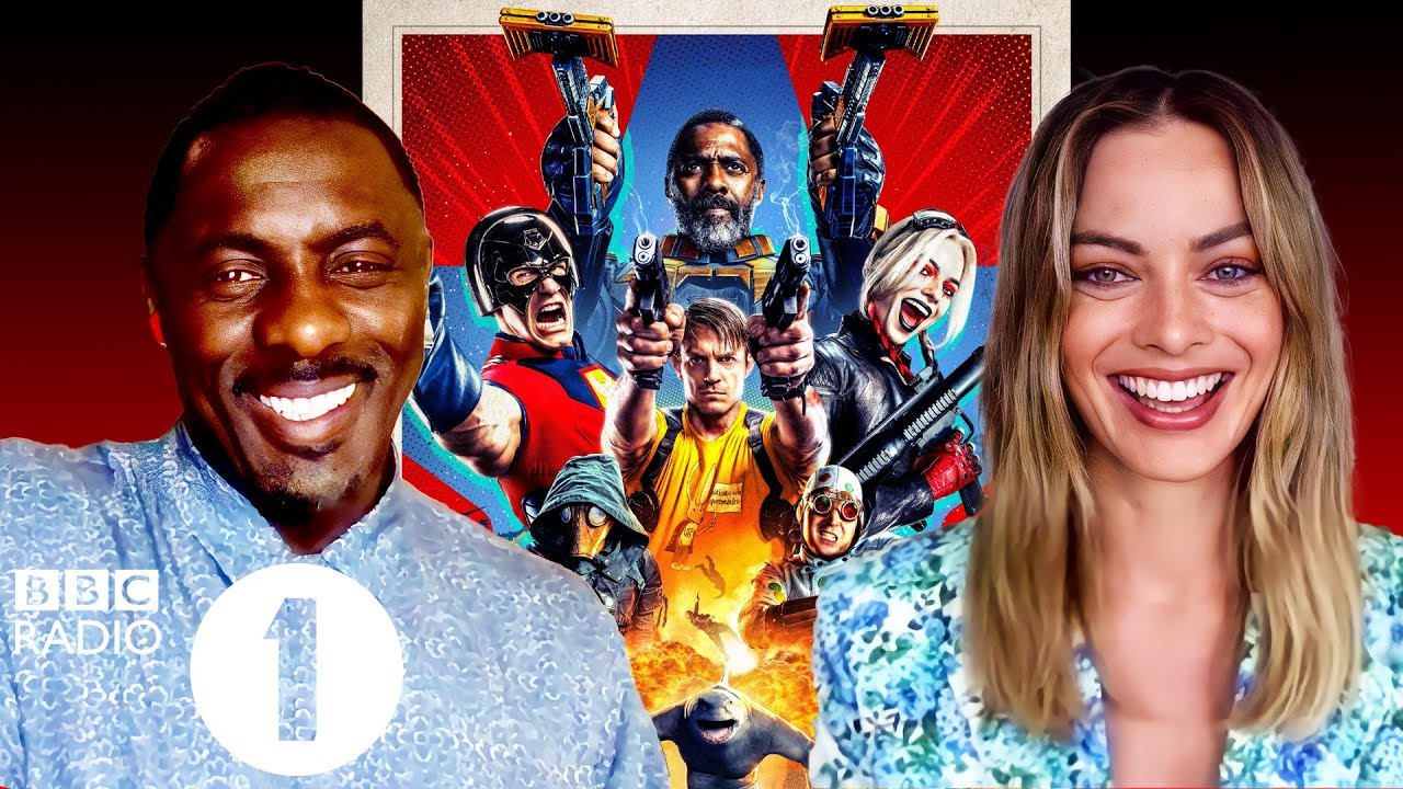 """""""Margot freakin' Robbie!"""" Idris Elba and The Suicide Squad on their most surreal on set moments."""