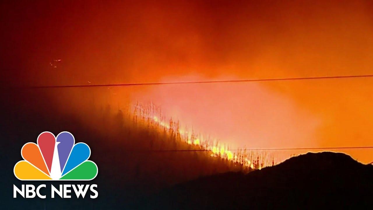 Evacuations Ordered As Colorado Wildfire Rages | NBC Nightly News – NBC News