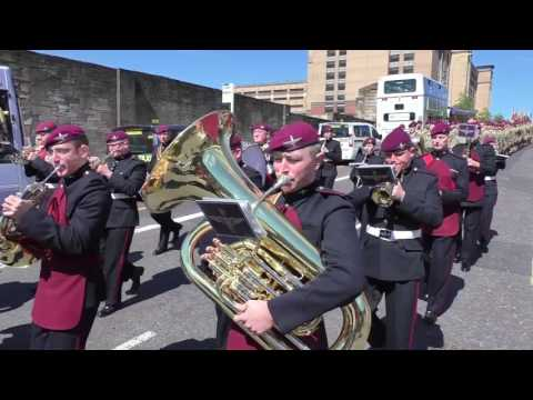 15th Battalion of the Parachute Regiment - 70th Anniversary Parade - Glasgow