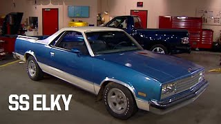 Transforming A Grocery Getter '83 El Camino Into An SS Elky - Trucks! S5, E8