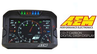 "homepage tile video photo for The Lightest, Brightest, Ultimate 7"" Digital Dashboard Display - CD-7 Carbon"