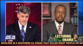 Conservative Doctor Benjamin Carson on Hannity on Why He Exposed Obama