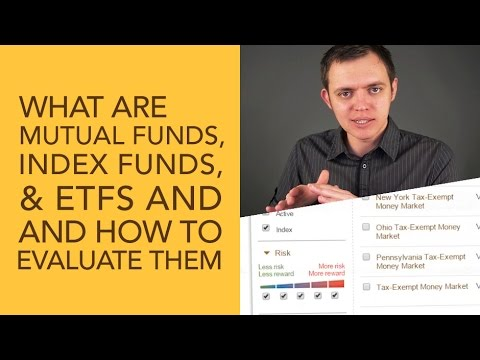 What are Mutual Funds, Index Funds, & ETF