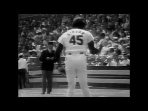 Bob Gibson tribute- highlights, greatest plays & games, of the greatest pitcher, in Cards history.