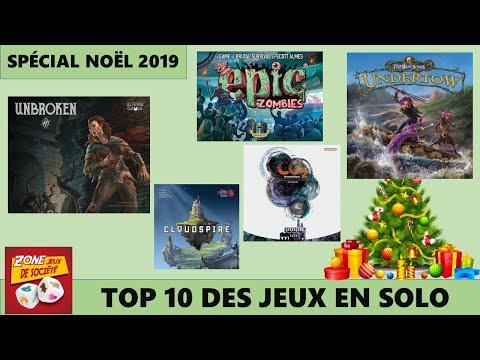 Spcial Nol 2019 - Top 10 des meilleurs jeux solo de tous les temps (Version 2019)