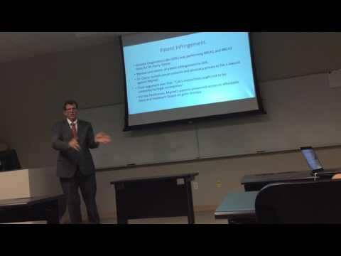 Javier Ramirez Gene Patenting case: AMP v. Myriad Genetics.