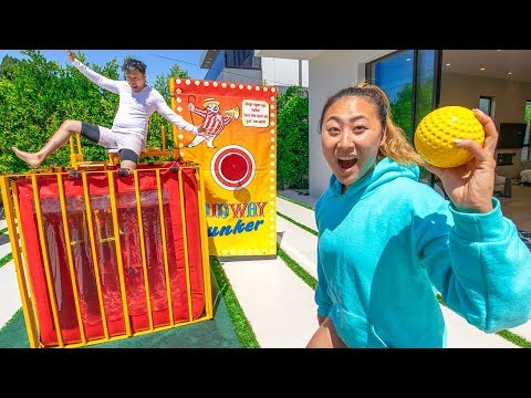 LAST TO GET DUNKED WINS $10,000!!