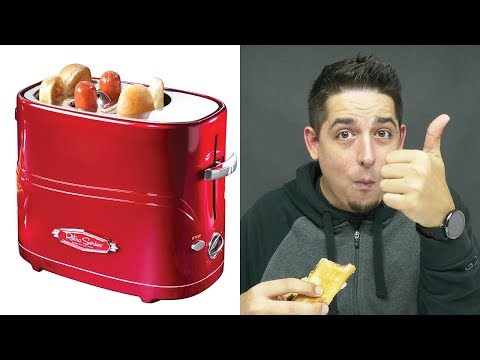 THE HOT DOG TOASTER!