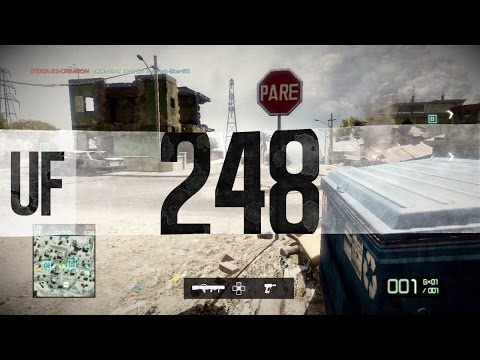 UNCUT FOOTAGE #248 BFBC2 Arica Harbor Conquest - Team USA (PS3)