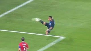 Impresionante golazo de Lautaro de volea voladora | Atletico Madrid 0-1 Inter Milan | 2018