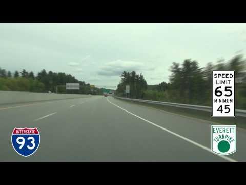 I-93, I-293 and Everett Turnpike, New Hampshire