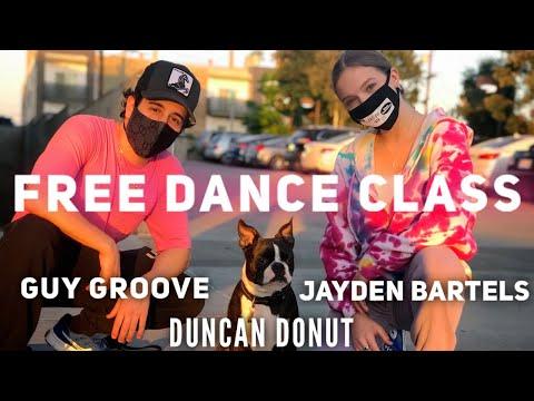 """Dance Class w Jayden & Guy """"Mamacita""""    Jayden Bartels"""