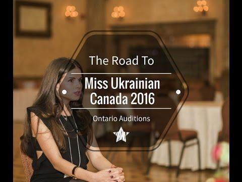 Toronto Casting - Miss Ukrainian Canada 2016 (Full)