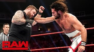 Seth Rollins vs. Kevin Owens with Special Guest Outside Referee Sami Zayn: Raw, June 10, 2019
