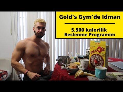 Tüm Gün Sporcu Beslenmesi & Bilimsel OMUZ Antrenmanı (Vlog)