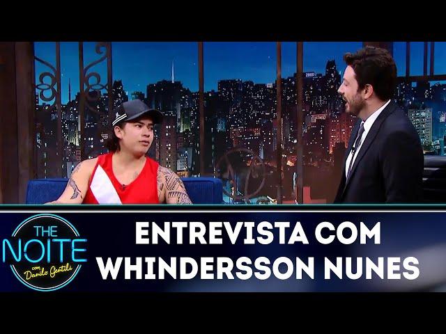 Melhores momentos 2018: Whindersson Nunes | The Noite (08/03/19)