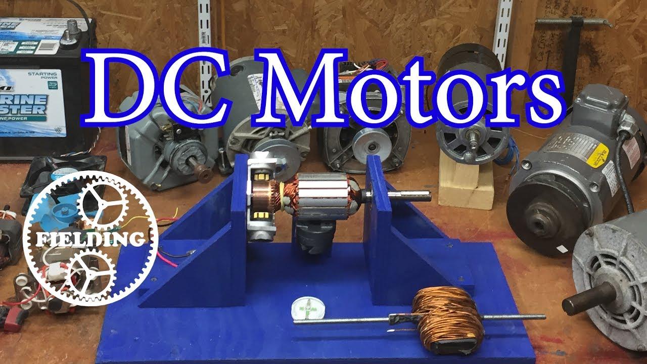 how motors work for beginners episode 1 the dc motor 032 youtube. Black Bedroom Furniture Sets. Home Design Ideas
