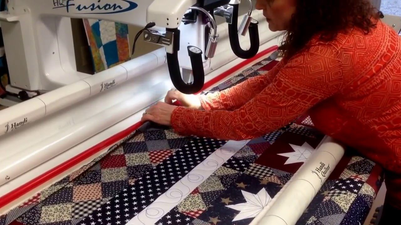 Attaching The Binding To Your Quilt With A Long Arm