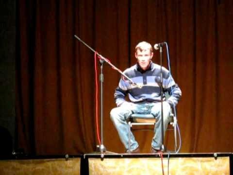 Thomas McCarthy performing