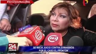 Se inició juicio contra exmarinos por caso El Frontón