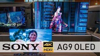 Соні AG9 OLED-телевізор 55, 65 і 77 Золл їм руки-про (4К / 60р)