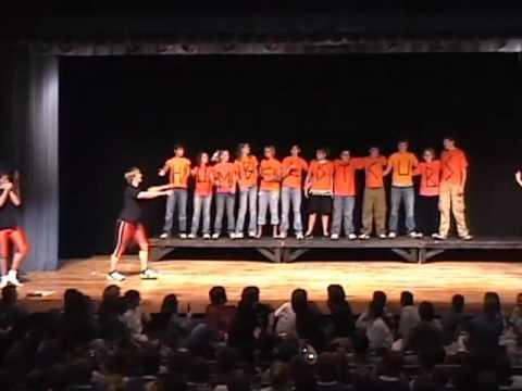 """Neodesha High School Class of 2010 Freshman Homecoming Skit """"Titanic"""" 2007"""