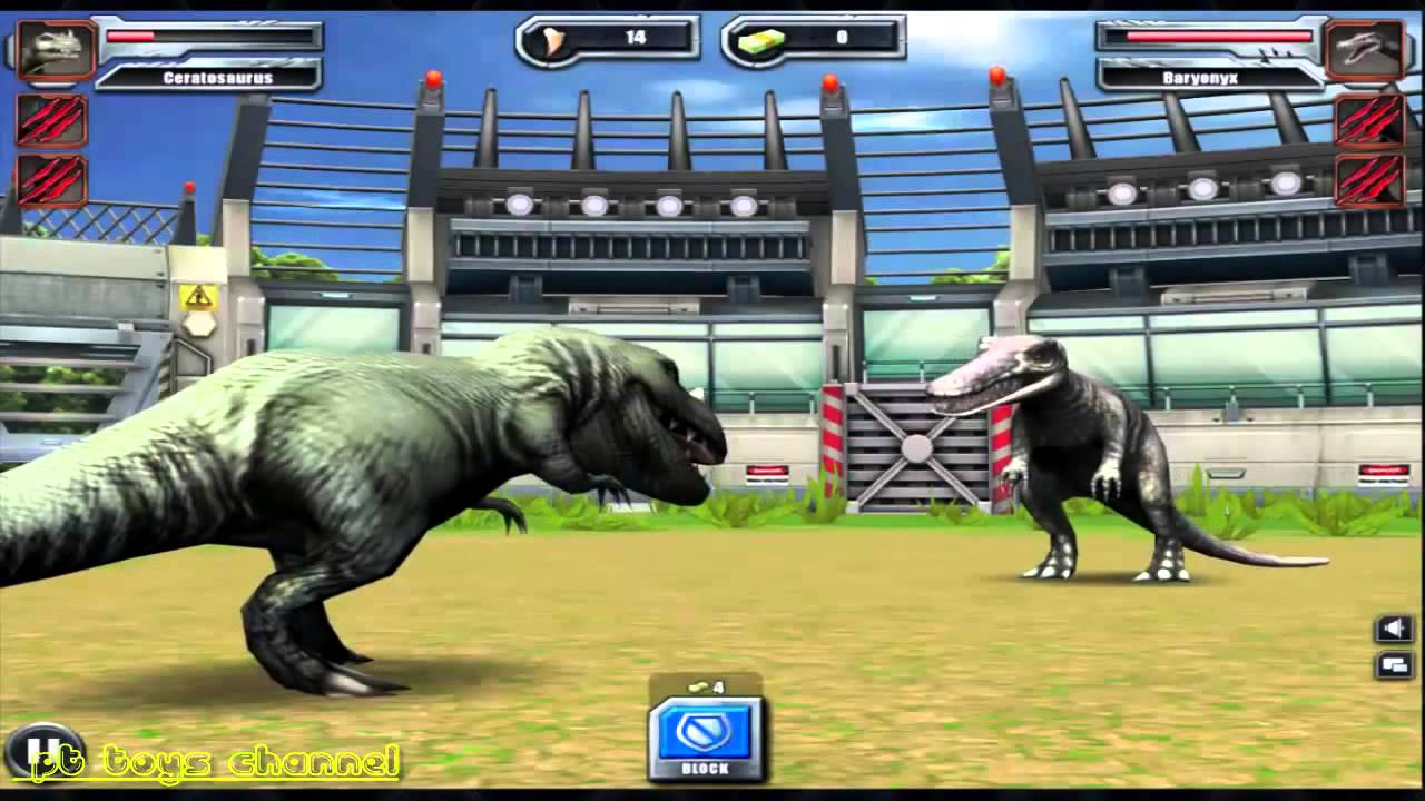 Dinosaur games for children to play – Game Khủng Long chiến đấu cho trẻ em