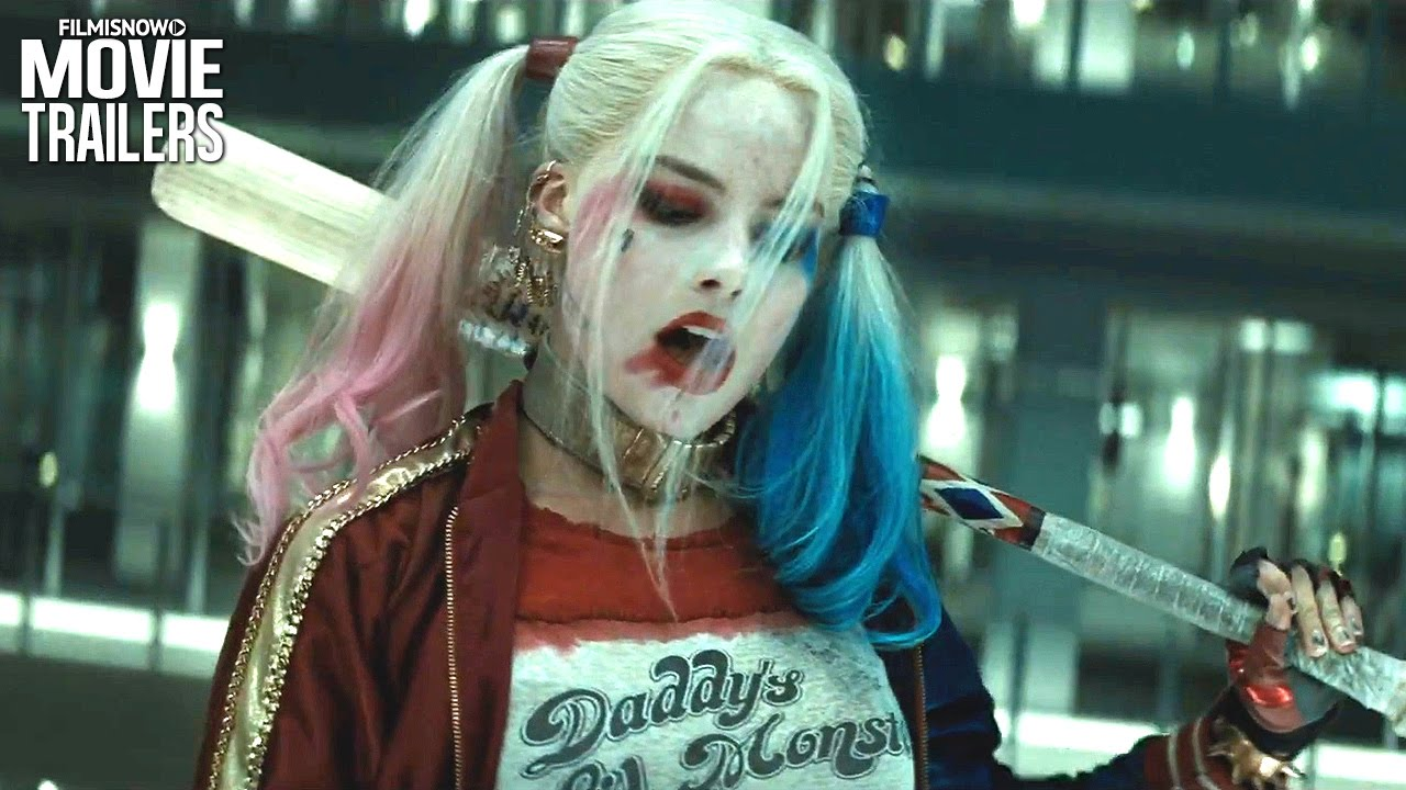 SUICIDE SQUAD | HARLEY QUINN Breaks Out For Some Extended Fun - YouTube