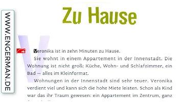 Deutsch lernen mit Geschichten #34   B1-B2 - Deutsch lernen kostenlos