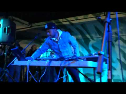 DJ Craze  live @ True Elementz Jam During Wynwood art Walk February 12, 2011.