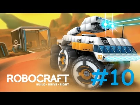 Let's Play RoboCraft Part 10: Going Blue by Leviathan