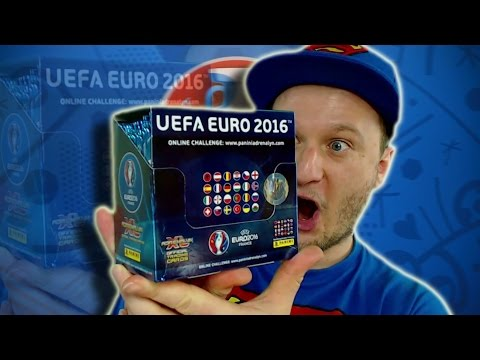 Adrenalyn XL EURO 2016 DISPLAY Unboxing 50 Booster