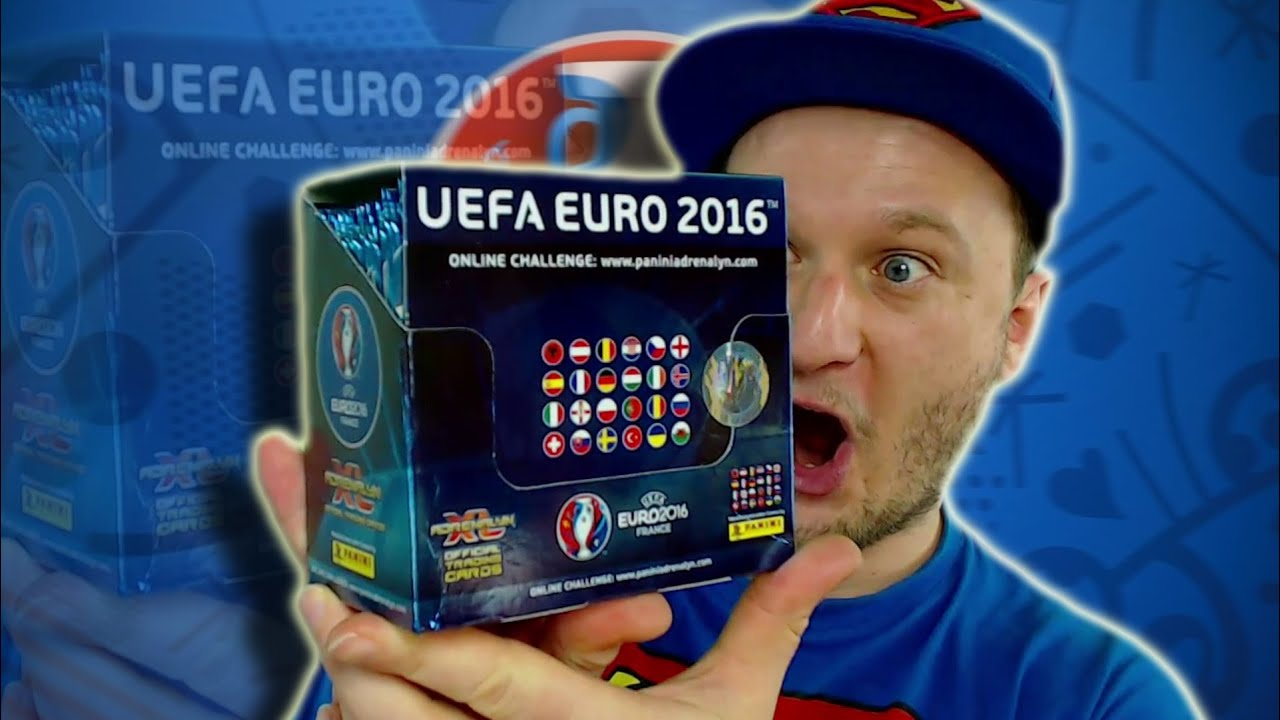 adrenalyn xl euro 2016 display unboxing 50 booster youtube. Black Bedroom Furniture Sets. Home Design Ideas
