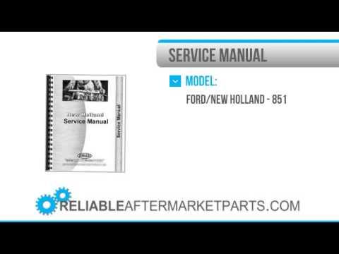 850 Round baler Repair manual