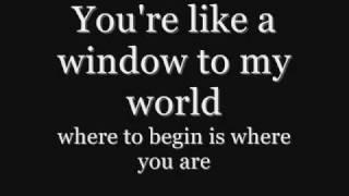 Reamonn - Aeroplane Lyrics