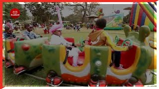 Hundreds of children throng Uhuru Park ahead of school reopening