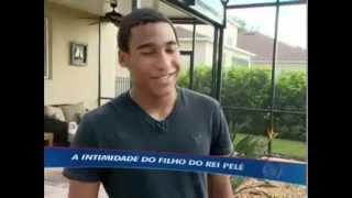 Filho de Pelé segue os passos do pai