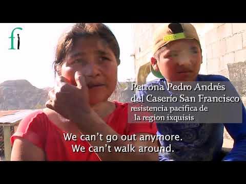 2018 Front Line Defenders Americas Regional Award Winner - Ixquisis, Guatemala
