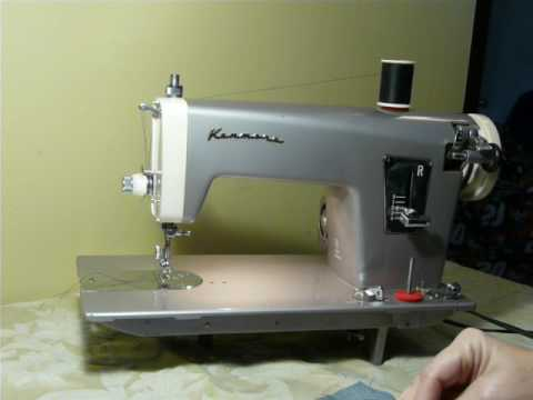 NIFTYTHRIFTYGIRL Vintage Kenmore Model 40 Straight Stitch Sewing Impressive Kenmore Sewing Machine Help