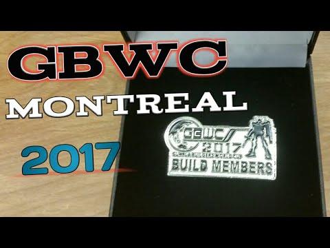 Gunpla Builders World Cup Montreal 2017