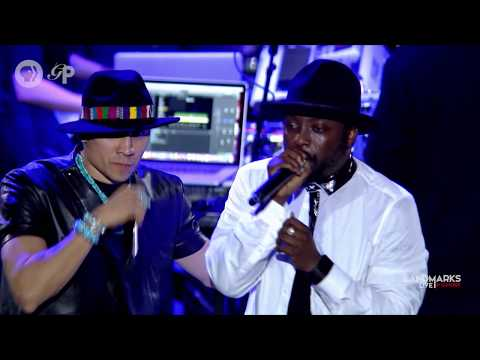 "Will.i.am, Taboo And Apl.de.ap Of The Black Eyed Peas Sing ""Where Is The Love?"""