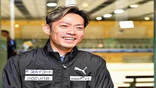 フィギュアスケートの近畿選手権の開会式が5日、兵庫・尼崎スポーツの...