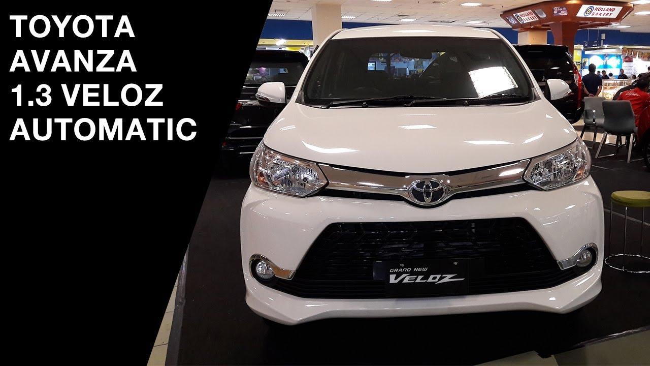 Toyota Avanza 13 Veloz 2017 Exterior And Interior YouTube