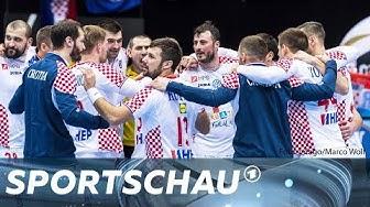 Handball-WM: Kroatien schüttelt Island ab | Sportschau