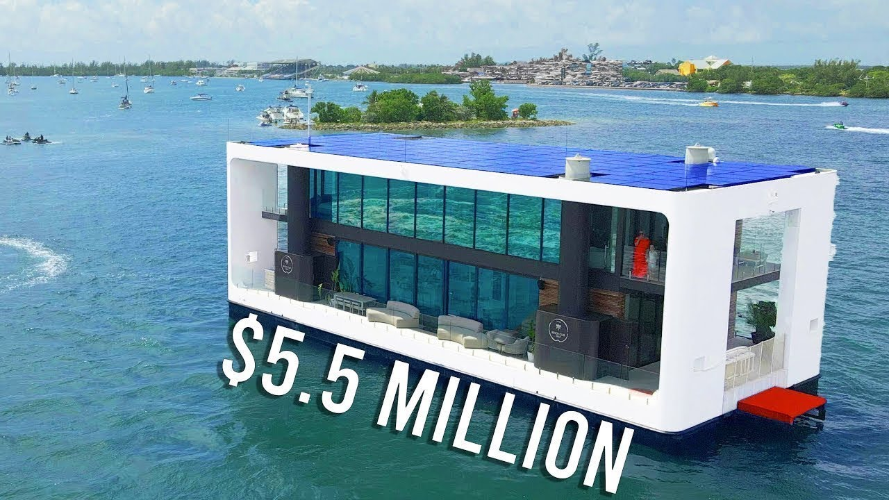 If Tesla Made a Floating Mansion: ArkUp Technical Tour ($5.5 Million)