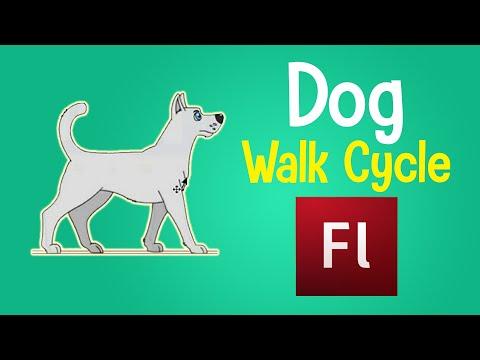 Flash Tutorial- Animal Walk Cycle