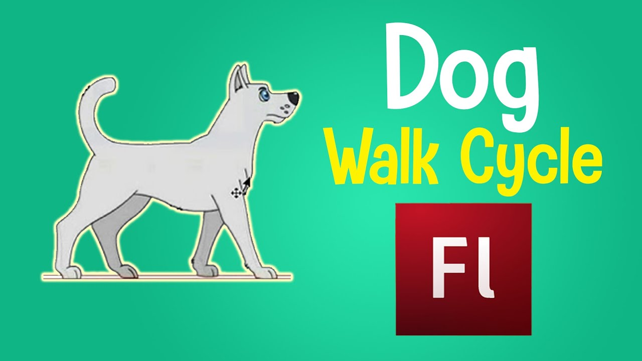 Flash Tutorial- Animal Walk Cycle - YouTube