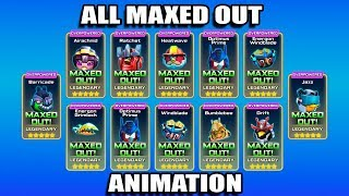 Angry birds Transformers - All Characters Maxed Out Animation!